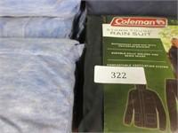 Lot of Various Coleman Rain Suits