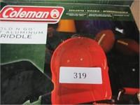 2 Coleman Folding Stove Griddles