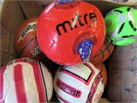 Lot of Several Sports Balls