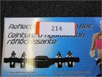 Sportline Reflecting Body Fluid Belt