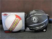 Lot of 2 Soccer Balls