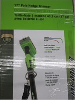 """17"""" Pole Hedge Trimmer"""