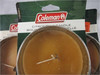 Coleman Outdoor Citronella Candles