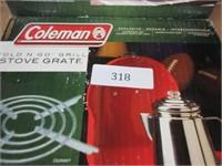 2 Coleman Folding Stove Grates