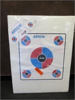 Delta Arrow Stop Archery Backdrop