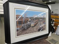 TORONTO STEAM WHISTLE TRAIN STATION SIGNED