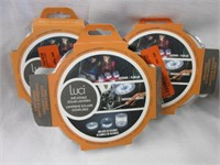 Lot of 3 Luci Inflatable Solar Lanterns