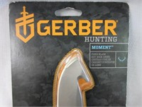 GERBER Moment Hunting Gut Knife-New