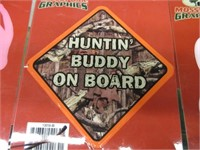 Lot of Various Hunting Stickers for Your Truck