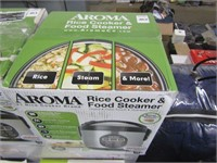 AROMA - RICE COOKER & FOOD STEAMER