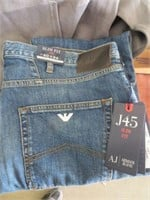ARMANI MENS JEANS - SLIM FIT SIZE 40 X 34