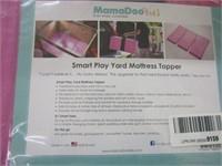 SMART PLAY YARD MATTRESS TOPPER