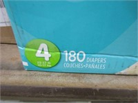PAMPERS - 180 DIAPERS 22 - 37 LBS