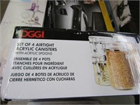 AIRTIGHT ACRYLIC CANISTERS