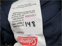 "COLEMAN SLEEPING BAG (33"" X 75"")"