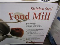 STAINLESS STEEL FOOD MILL