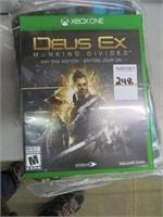 DISKS - COOL MOVES, XBOX ONE - DEUS EX
