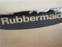 ASSORTED RUBBERMAID STORAGE CONTAINERS