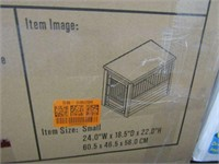 HABITAT N' HOME CRATE WITH STAINLESS STEEL SPINDLE