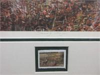 """Framed PAUL RANKIN Litho """"Spring Danger"""""""