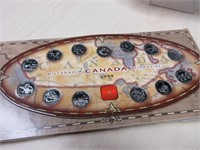 1999 Millenium Canada Coin Set