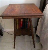 Early Wooden Prayer Table
