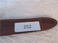 Antique Hunting Knife with Case- Stamped