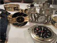 Large Lot of Various Ladies Wrist Watches