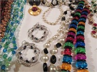 Large Lot of Various Ladies Costume Jewerly
