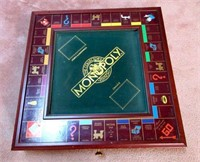 Wooden Monopoly Game Board