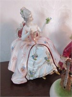 Antique Carl Thieme POTSCHAPPEL Porcelain Figurine