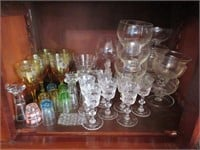 HUGE Lot of Misc. Vintage Drinking Glasses
