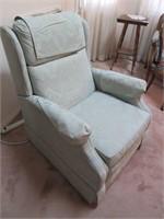 Nice Upholstered BURRIS Arm Chair