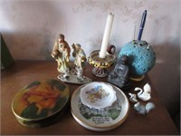 Grouping of Misc. Porcelain and Antiques