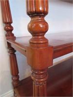 Wooden Georgian Style Served on Castors