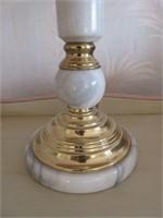 Antique Marble Base Shabby Chic Lamp
