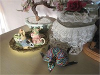 Lot of Misc. Porcelain and Decorative Pieces