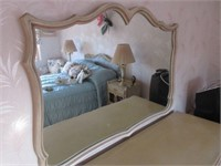 Shabby Chic Bedroom Dresser with Mirror