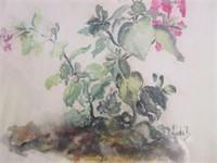 Guelph Artist LINDA BAUMGARTNER Watercolour Titled