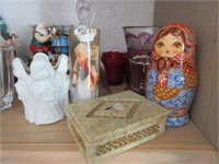 Misc. Vintage Small Porcelain and Glass Figures