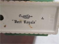 Porcelain CARLTON WARE Ashtray