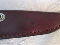 Vintage Hunting Knife with Case