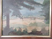 Framed Original LEE SMITH Watercolour