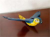 Hand Crafted Folk Art Bird