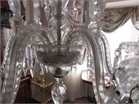 Beautiful Victorian Crystal Pendant Chandelier