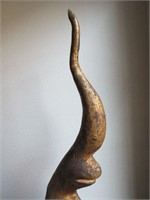 Wooden Abstract Sculpture
