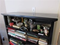 Quality Black Wooden Bookcase
