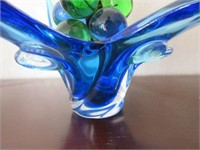 Large Free Form Glass Centrepiece