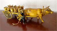 Vietnamese/Thailand Bull and Cart Figural Piece