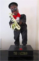 "Whimsical Singing ""The Jazzman"" Character"